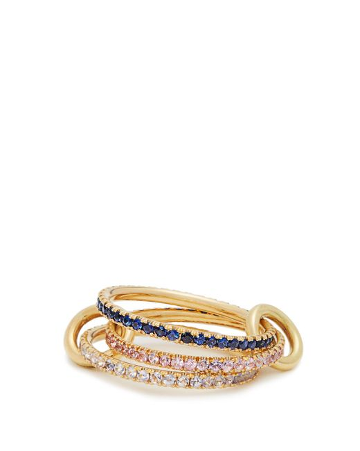 Spinelli Kilcollin | Blue Aurora Sapphire, Tanzanite & Yellow-gold Ring | Lyst