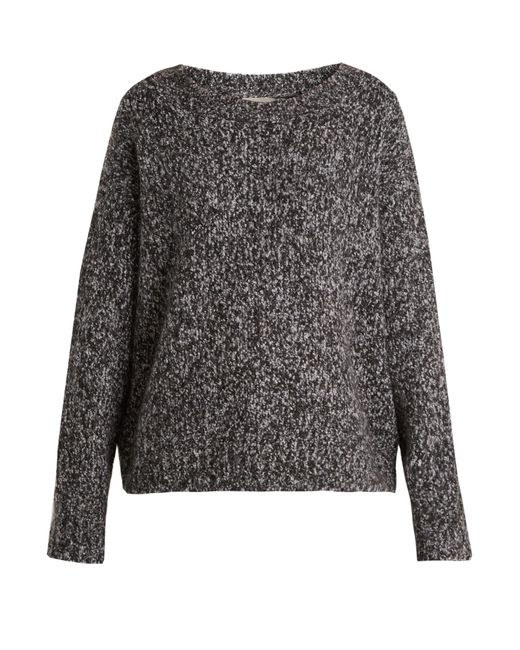 Vince | Gray Chunky Wool And Cashmere-blend Knit Sweater | Lyst