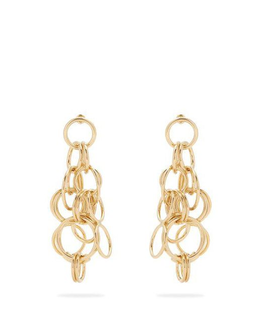 Chloé Reese hoop drop earrings CYiNWWo5