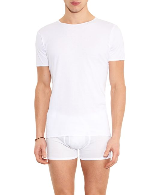 The white briefs Earth Cotton T-shirt in White for Men ...