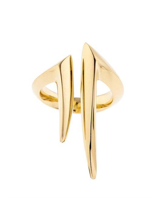 Shaun Leane | Metallic Yellow-gold Split Ring | Lyst