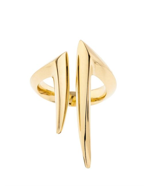 Shaun Leane | Yellow-Gold Split Ring | Lyst