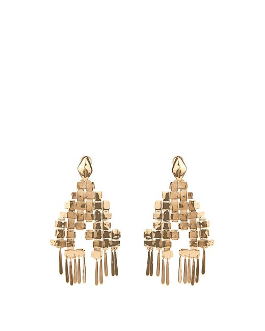 Aurelie Bidermann | Metallic Marella Dangling Yellow-gold Plated Earrings | Lyst