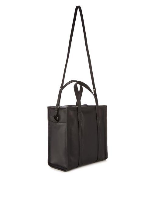 Balenciaga Shopper Bag Black. BALENCIAGA Arena Leather Bazar Small Shopper  Tote ... eef929fecf8e1