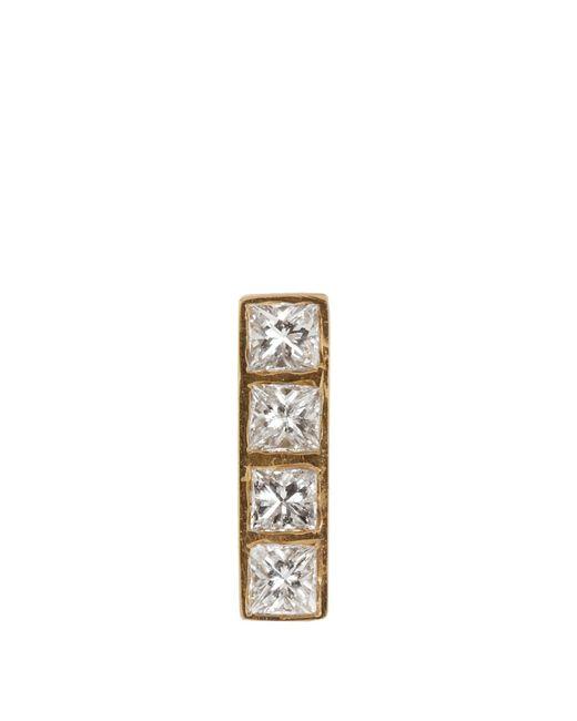 Ileana Makri | Metallic Diamond & Yellow-gold Earring | Lyst