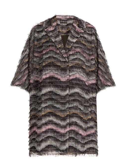 Diane von Furstenberg | Gray Floretta Coat | Lyst