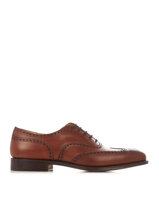 Church's | Brown Chetwynd Leather Brogues for Men | Lyst