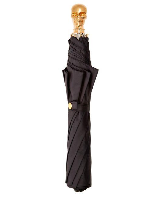 Alexander McQueen | Black Skull Foldable Umbrella | Lyst