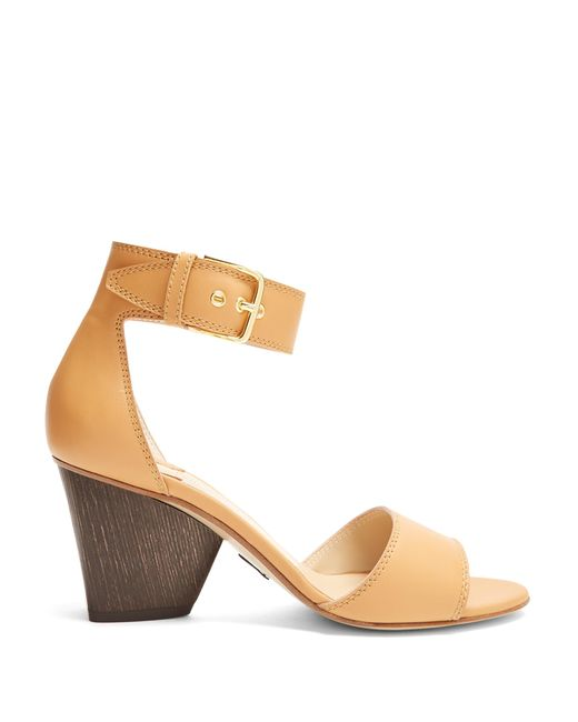 Paul Andrew | Multicolor Tindra Leather Sandals | Lyst