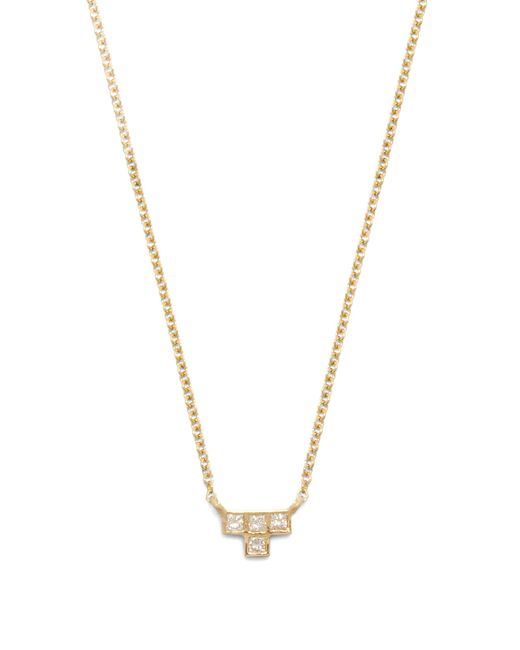 Ileana Makri | Metallic Diamond & Yellow-gold Necklace | Lyst