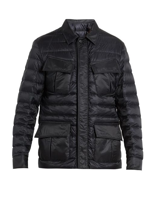 Moncler | Blue Dereck Quilted Down Jacket for Men | Lyst
