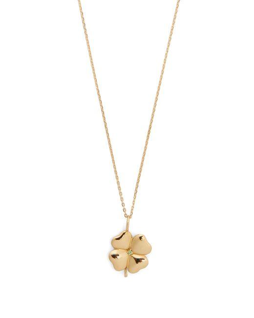 Aurelie Bidermann | Metallic Tsavorite & Yellow-gold Necklace | Lyst