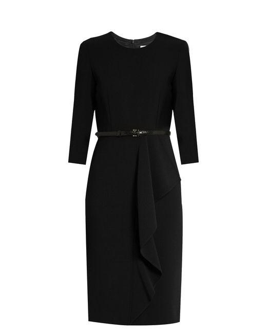 Max Mara | Black Biacco Dress | Lyst