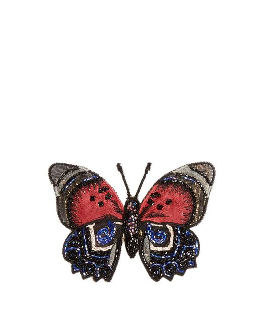 Dolce & Gabbana | Embroidered-butterfly Brooch | Lyst
