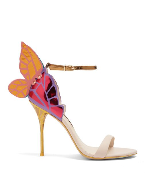 Sophia Webster | Multicolor Chiara Butterfly-wing Leather Sandals | Lyst