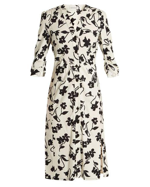 Altuzarra | Multicolor Pia Floral-print Crepe-cady Shirtdress | Lyst