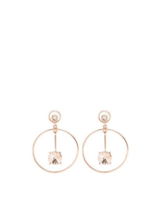 Oscar de la Renta   Multicolor Crystal-embellished Drop Earrings   Lyst