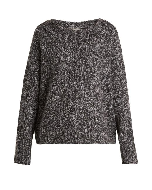 Vince   Gray Chunky Wool And Cashmere-blend Knit Sweater   Lyst