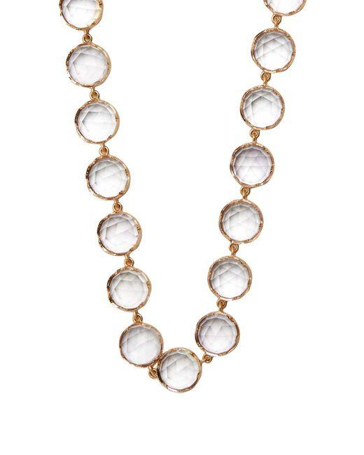 Irene Neuwirth   Metallic Rose De France Amethyst & Rose-gold Necklace   Lyst