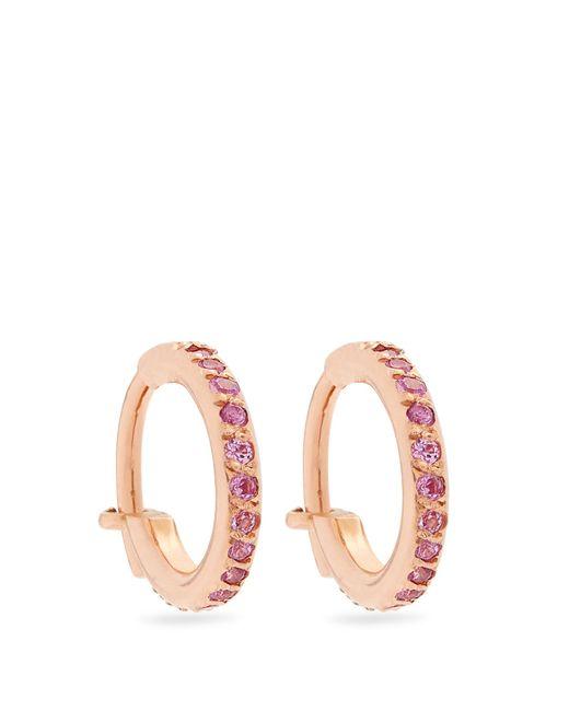Ileana Makri | Sapphire & Pink-gold Earrings | Lyst