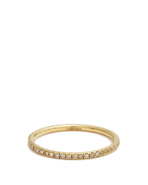 Ileana Makri | Metallic Diamond & Yellow-gold Ring | Lyst