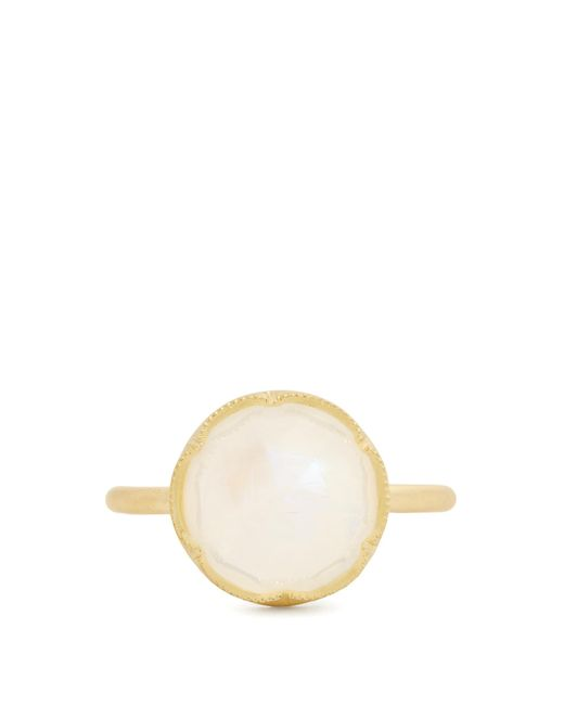 Irene Neuwirth | Metallic Rainbow Moonstone & Yellow-gold Ring | Lyst