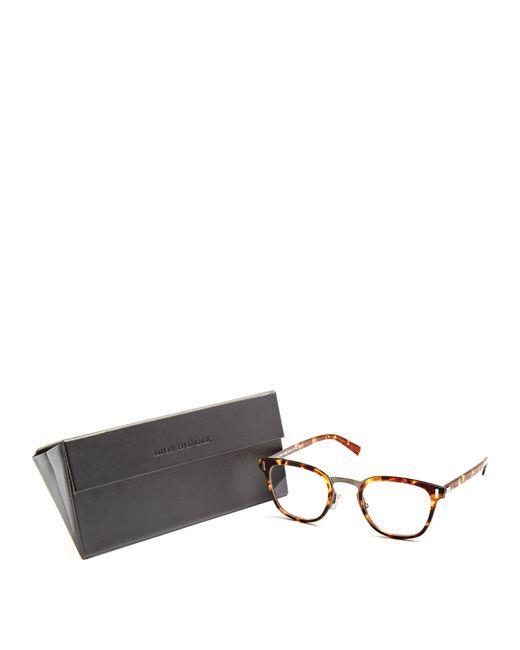 Dior homme Blacktie 2.0o D-frame Glasses in Brown for Men ...