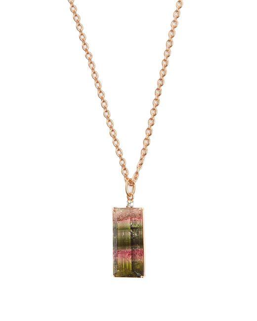 Irene Neuwirth | Pink Diamond, Tourmaline & Rose-gold Necklace | Lyst