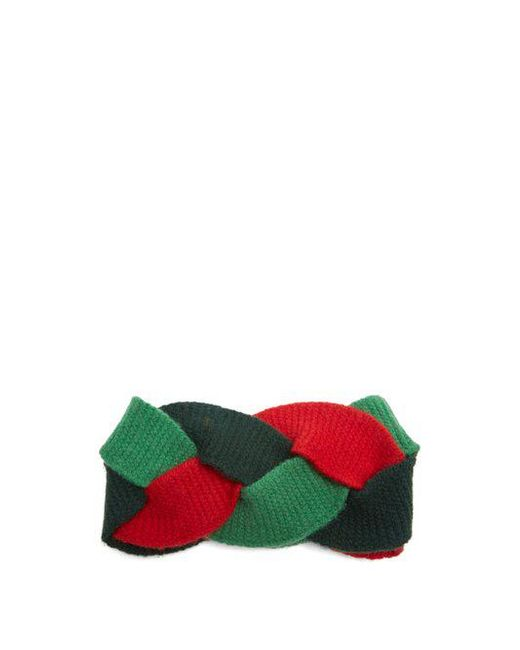 Braided wool-blend headband Gucci Qlg9kbUexX