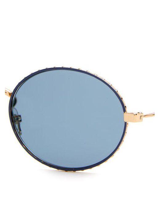 Oval-frame metal sunglasses Givenchy RaS3V