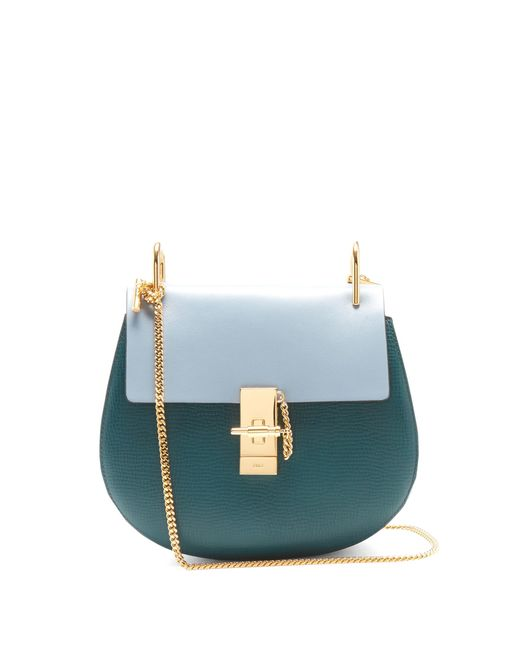 Chloé | Multicolor Drew Bi-colour Mini Leather Cross-body Bag | Lyst