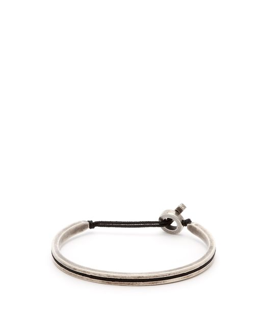 M. Cohen - Black Sterling Silver Cuff for Men - Lyst