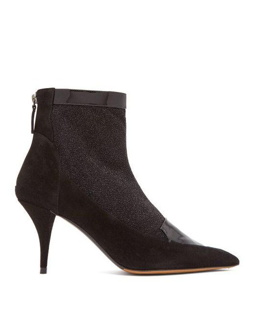 Clearance Best Place Free Shipping Largest Supplier Alana glittered suede ankle boots Tabitha Simmons Wiki Cheap Price Sale Visit New Clearance Online Amazon 93GAa