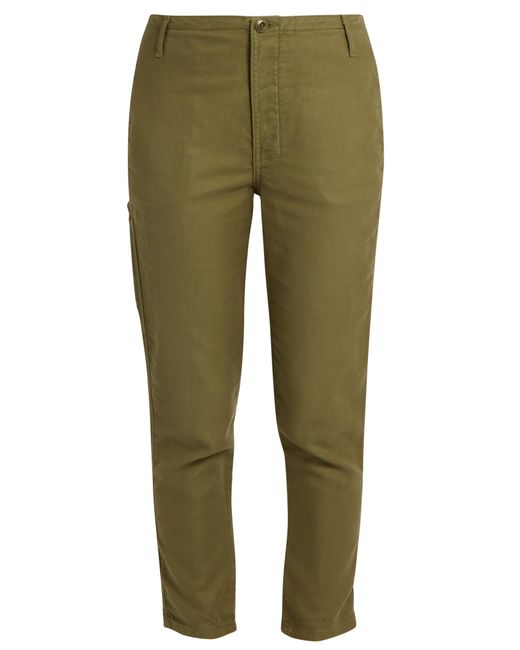 The Great | Green The Carpenter Low-slung Trousers | Lyst