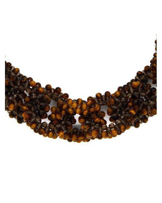 Rosantica Carramato short beaded necklace Gb71Gezd