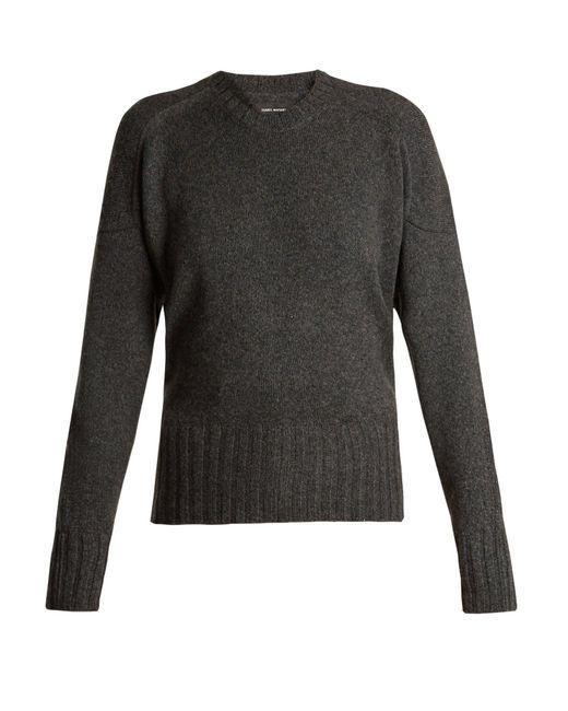Isabel Marant - Gray Denver Wool Blend Sweater - Lyst