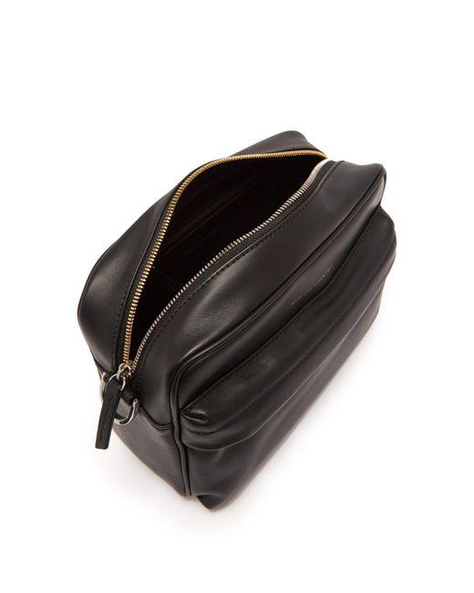62c51cb1f4 ... Want Les Essentiels De La Vie - Black Sac bandoulière rectangulaire en  cuir for Men ...