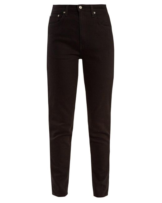 Brock Collection - Black Jean skinny taille haute James - Lyst