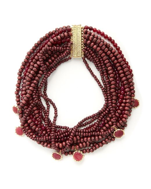 Rosantica By Michela Panero | Multicolor Inganno Multi-strand Necklace | Lyst