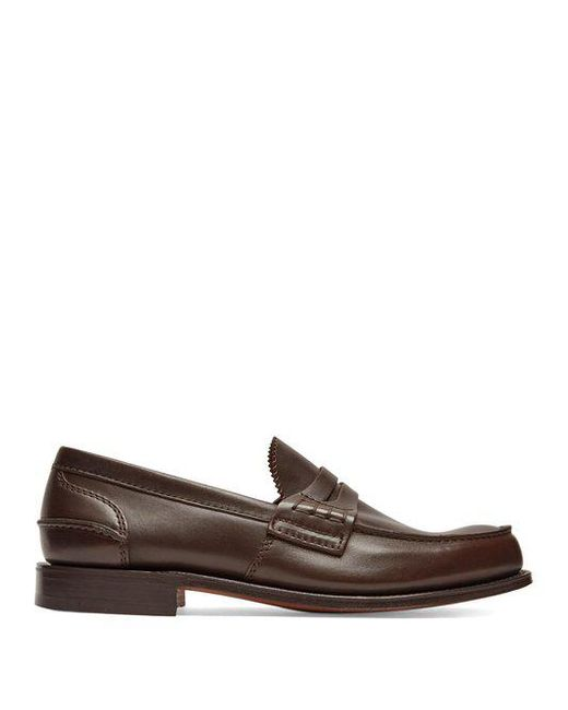 Church's - Brown Pembrey Leather Loafers for Men - Lyst