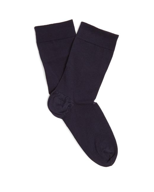 Wolford | Blue Cotton-blend Ankle Socks | Lyst
