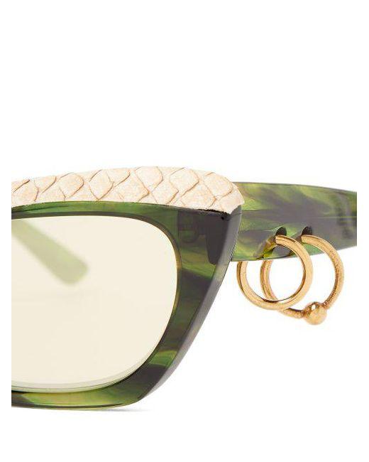 Dielle temple-hoop sunglasses Acne Studios bgEXm
