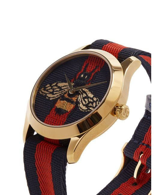 407d5059483 Gucci G Timeless Tiger Face Watch in Metallic for Men - Save 20% - Lyst