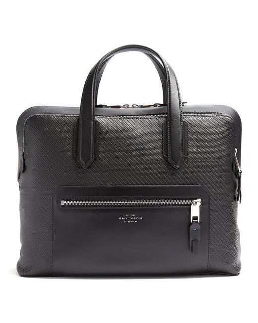 SMYTHSON Greenwich woven-leather briefcase Sale 2018 Outlet 2018 Newest Many Kinds Of Pick A Best Lowest Price For Sale Geude