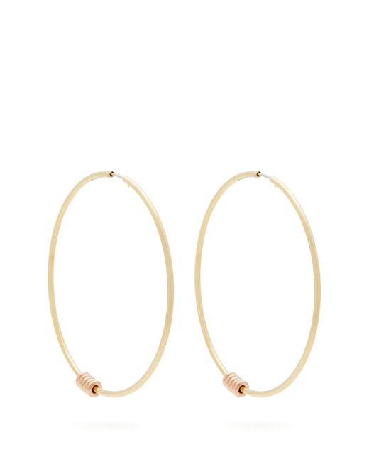 Spinelli Kilcollin - Metallic Leela 18kt Gold Hoop Earrings - Lyst