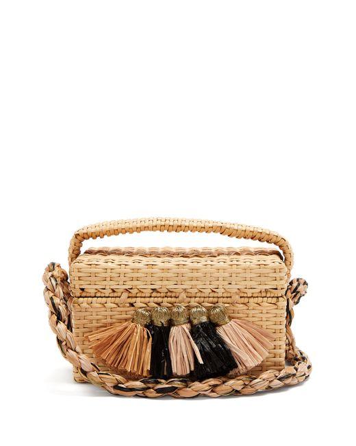 Sanayi 313 - Natural Carolsello Tassel-trimmed Straw Bag - Lyst