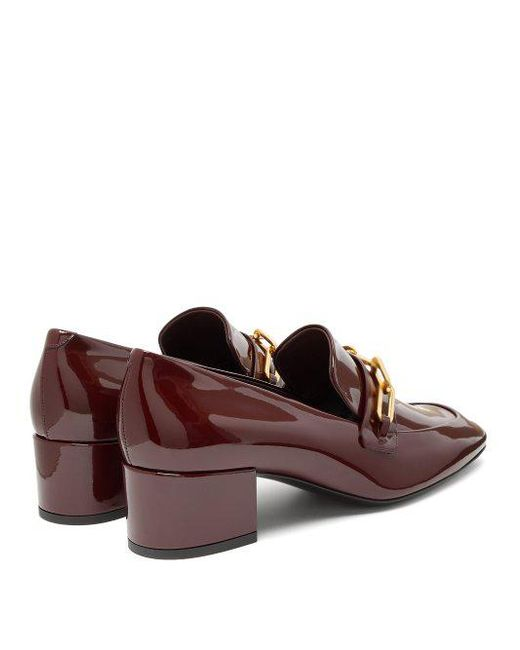 Chillcot patent-leather loafers Burberry UbYNH9adSx