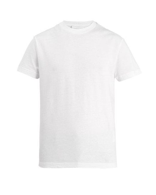 Prada - White Set Of Three Cotton-jersey T-shirts for Men - Lyst