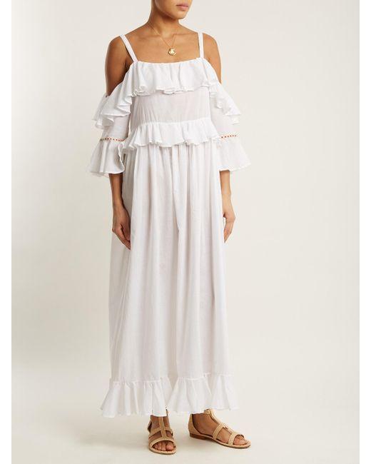 Paxos off-shoulder dress Daft xFsc1WNU