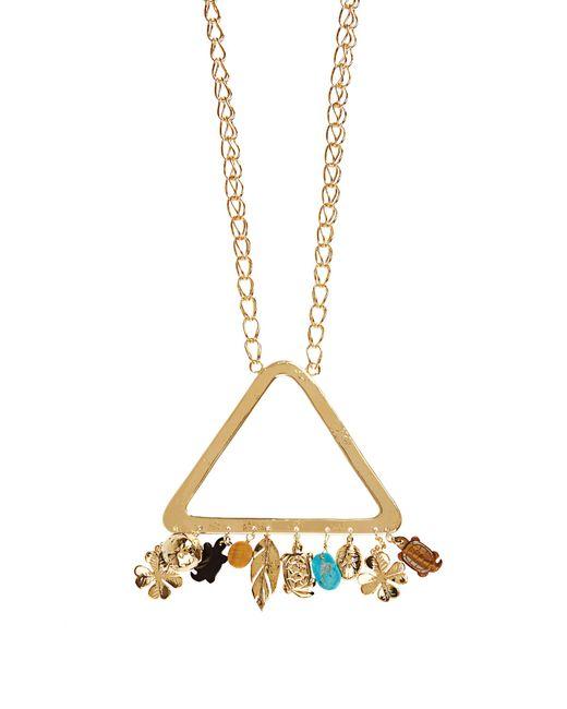 Aurelie Bidermann   Metallic Aurélie Gold-plated Necklace   Lyst